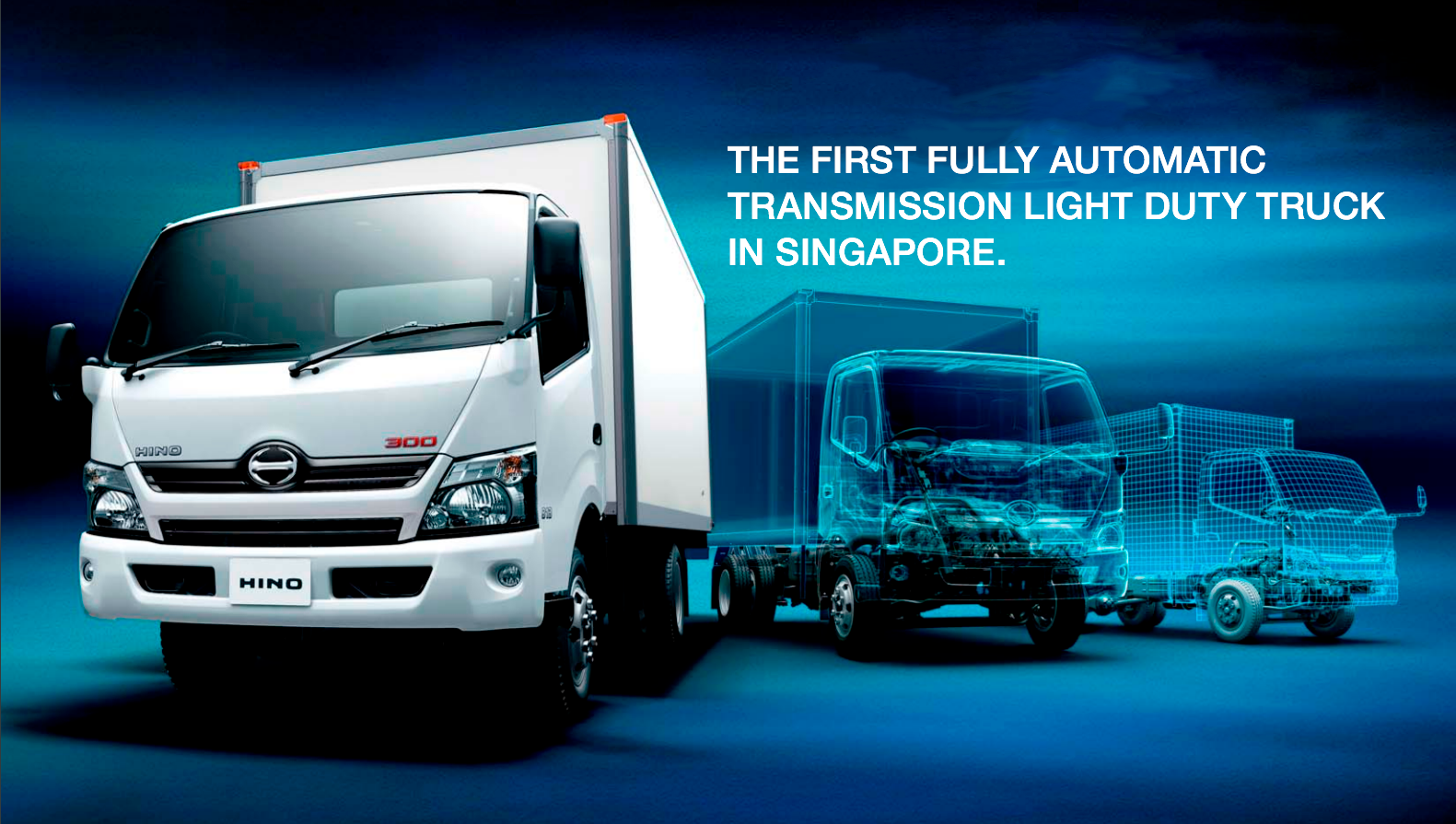 Hino 300 Fully Automatic Transmission